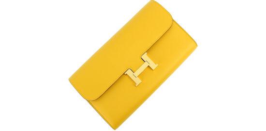 エルメス黄色い財布