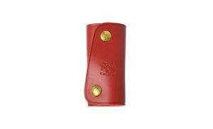 赤いキーケース