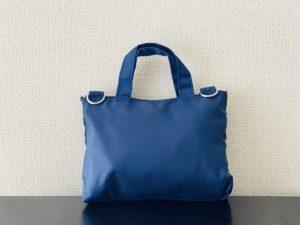 青色バッグ