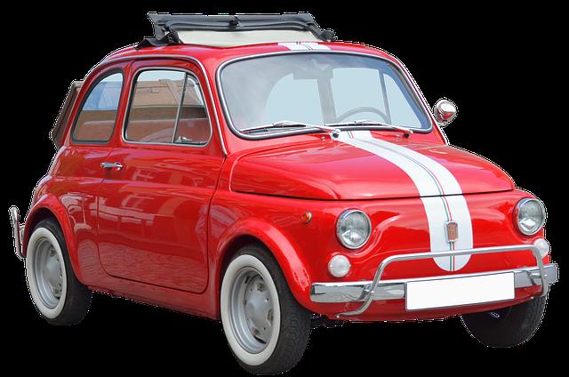 赤色の軽自動車はおしゃれ可愛い